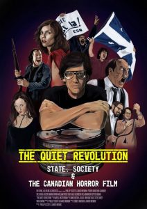 """""""The Quiet Revolution: State, Society and the Canadian Horror Film"""" book cover"""